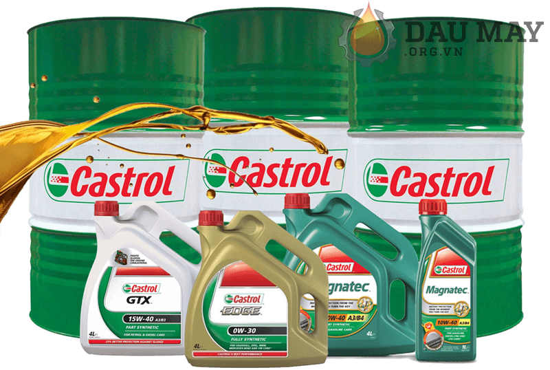 Đại lý chính thức phân phối dầu cắt gọt kim loại Castrol
