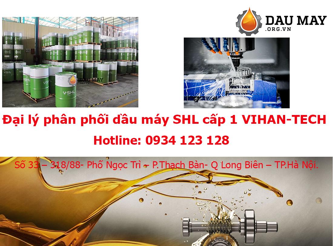 Đại lý dầu thủy lực SHL SYNTHDRO 46AW giá rẻ