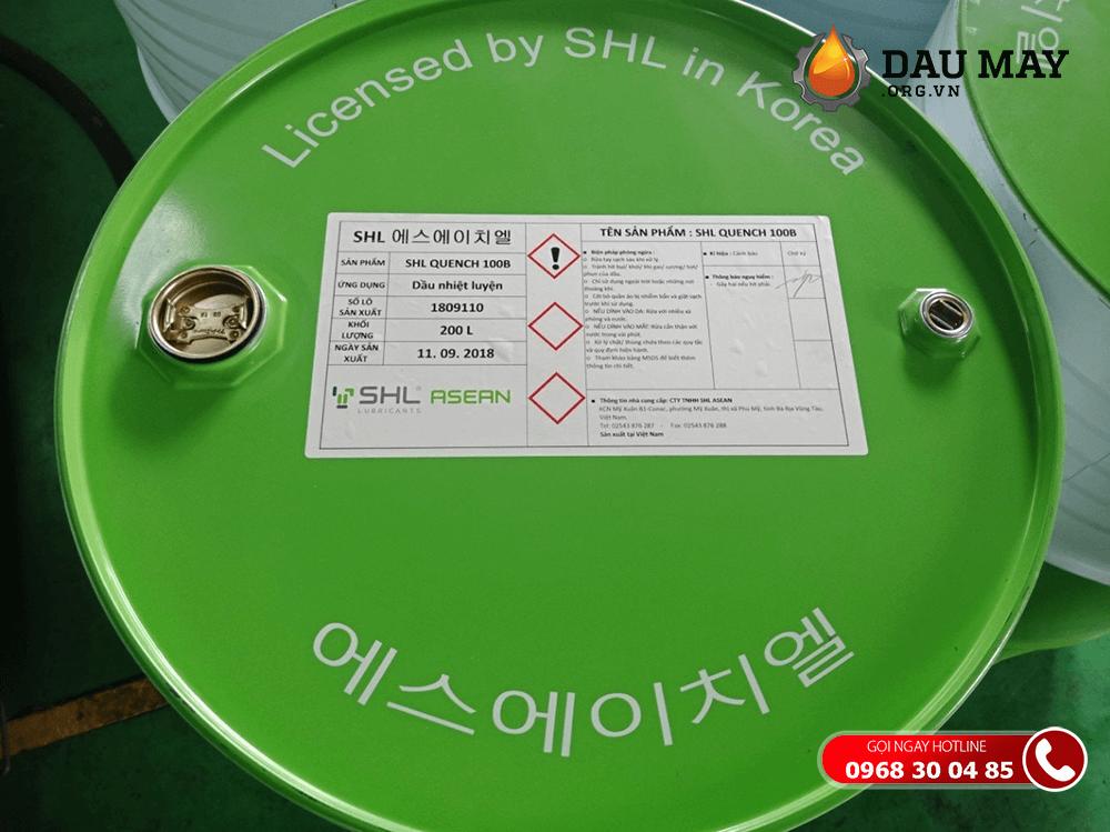 Đột nhập để kiểm tra chất lượng dầu thủy lực SHL